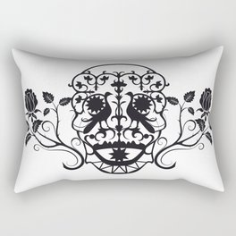 SKULL FLOWER 03 Rectangular Pillow