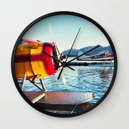 Float Planes Wall Clock