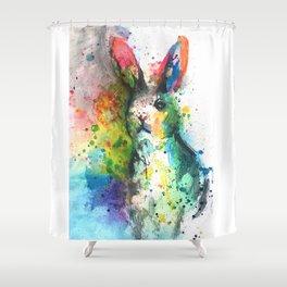 Bunny Splash Shower Curtain