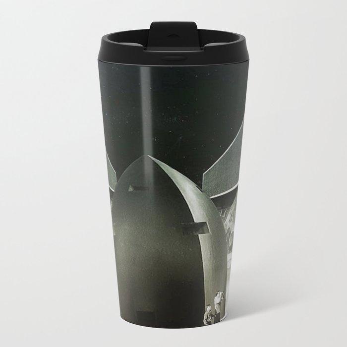 Exploring New Horizons Metal Travel Mug
