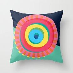 Layered Circles Throw Pillow