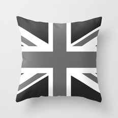 Union Jack Authentic scale 3:5 Version  (High Quality) Throw Pillow