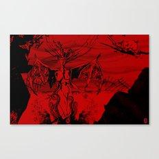 a vampire Canvas Print