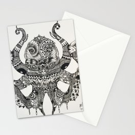 The Kraken Stationery Cards