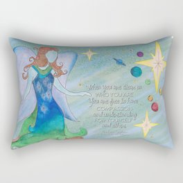 Sophia You are Free Rectangular Pillow