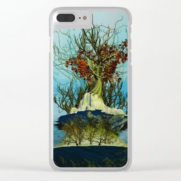 On the Top of the Top Clear iPhone Case
