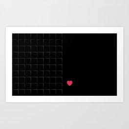 23 E=BlackLove Art Print