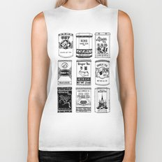 chinese teabox collection Biker Tank
