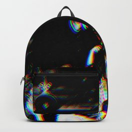 Playboi Carti - Die Lit (Split Color Glitch Effect) Backpack
