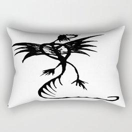 Dragonlady Rectangular Pillow