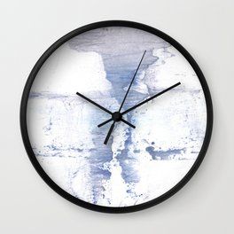 Smell of snow Wall Clock