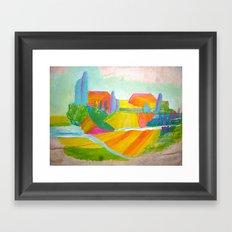 Y8c Framed Art Print