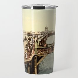 1890 Victorian Jetty in Margate Kent Travel Mug