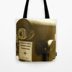 Spyglass to land observation Tote Bag