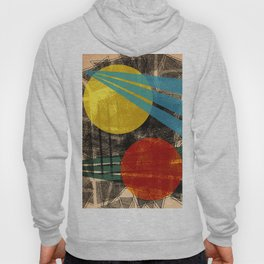- abstract sunset - Hoody