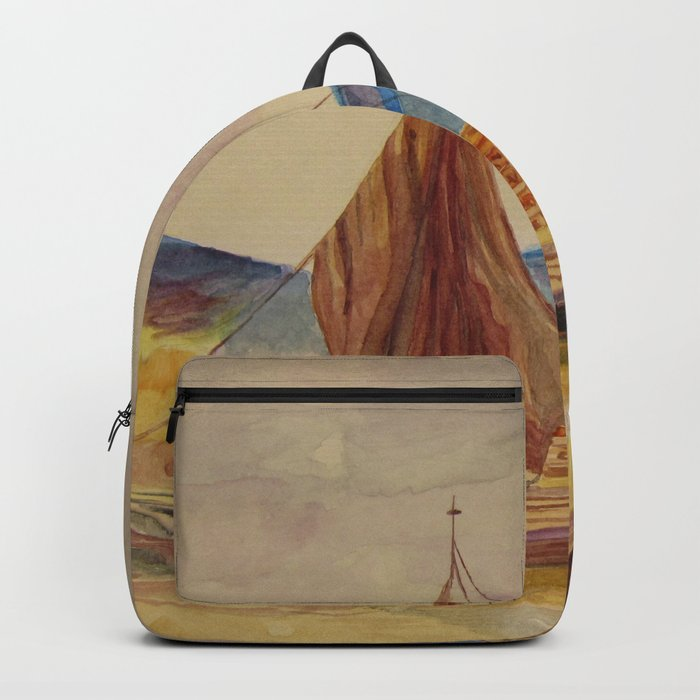 sailing boats with fruit Backpack