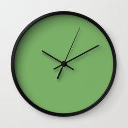 Heart of the Garden ~ New Green Wall Clock