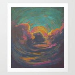 Returning to the Sky Art Print