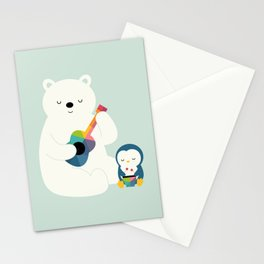 A Little Band Stationery Cards