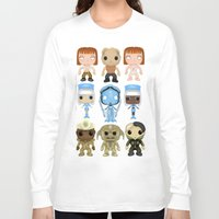 fifth element Long Sleeve T-shirts featuring The Fifth Element Customs by SpaceWaffle