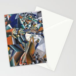 Kazimir Malevich, The Knife Grinder Stationery Cards