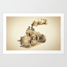 train of life Art Print
