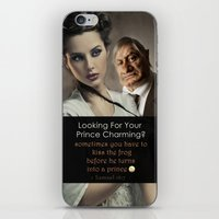 beauty and the beast iPhone & iPod Skins featuring Beauty & Beast by ProverbsDaily