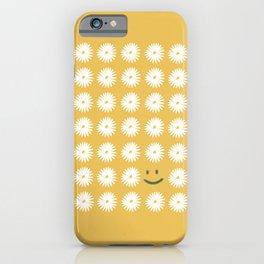 Smiley Daisy iPhone Case