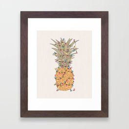 Tropical Lights Framed Art Print