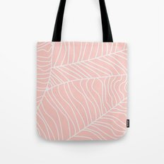 TROPICAL LEAVES - pink palette Tote Bag
