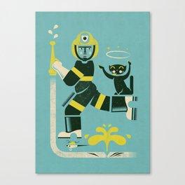 Saint ... Canvas Print