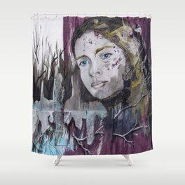 Jaula de Piel y Hueso Shower Curtain