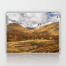 Golden Valley. Laptop & iPad Skin