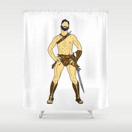 Gladiator Warrior 2 Shower Curtain