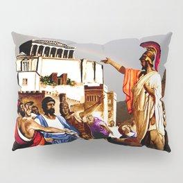 PERIKLES - the speech - color version Pillow Sham