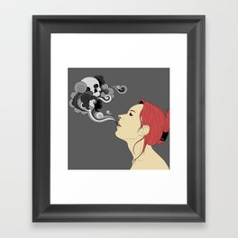 Breathless (coloured) Framed Art Print