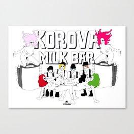 KOROVA MILK BAR Canvas Print