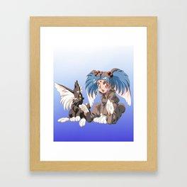 tenchi Muyo Framed Art Print