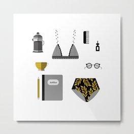 Essentials II Metal Print