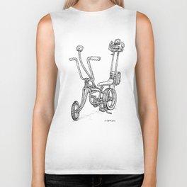Cartoon Retro Mod Stingray 8-Track Muscle Bike Bicycle Stingray Biker Tank