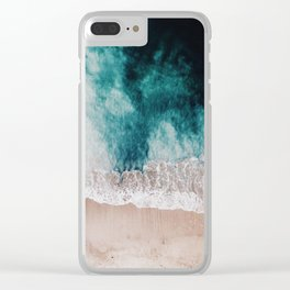 Ocean (Drone Photography) Clear iPhone Case