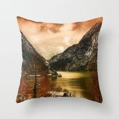 Austrian Wanderlust Throw Pillow