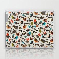 just birds china white Laptop & iPad Skin