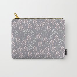 Grey and rose Carry-All Pouch