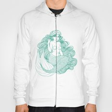 Flowers and Scales Hoody