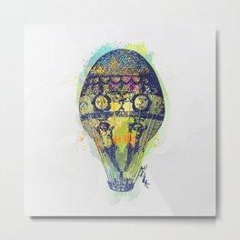 AP103 Hot air baloon Metal Print