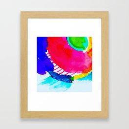 in the blink of an eye Framed Art Print