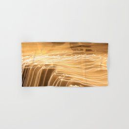 strokes of light Hand & Bath Towel