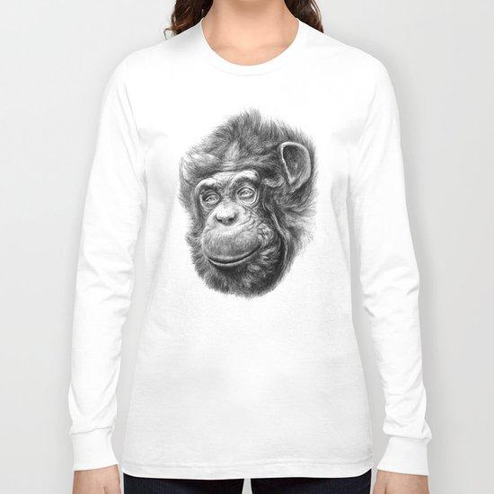 Wise Chimp SK067 Long Sleeve T-shirt