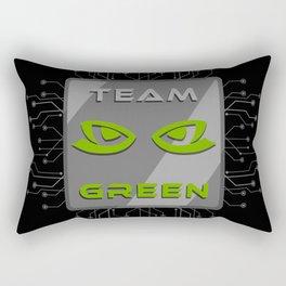 Team Green Rectangular Pillow